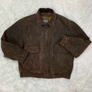 Wilsons Leather Heavy Bomber Jacket